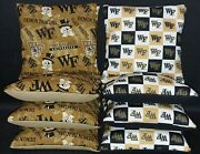 Set Of 8 Wake Forest Demon Deacons Cornhole Bags Free Shipping