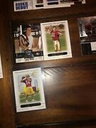 Football Card Collection Rookie Cards Jersey Cards Over 1000 Cards
