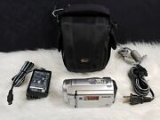 Sony Dcr-sx40 Palm-sized Camcorder With 60x Optical Zoom Silver, Bundle