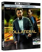 Collateral New Sealed 4k Ultra Hd Uhd + Blu-ray Tom Cruise Jamie Foxx