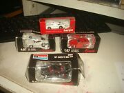 Ho Monogram And Herpa Lot Of 4 Cars