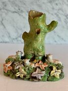 Early Staffordshire Sheep Group Spill Vase 1780-1840 Enoch Wood