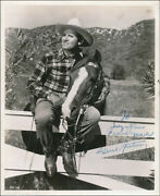 Gene Autry - Inscribed Photograph Signed