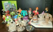 Disney Infinity Xbox 360 Game Lot With 1bases 29 Figures And Game