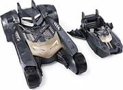 Batmobile And Batboat 2-in-1 Transforming Vehicle For Use With 4-inch