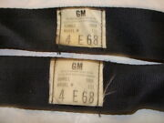 1968 Date Code Gm Delux Seat Beltsone Seat Plus One Male4 E 68buckles Pitted