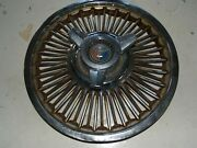 Ford Wire Spoke Spinner Hub Caps 15 Across-late 1950s-rusted - Only 1