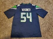 Bobby Wagner 54 Seattle Seahawks 100th Anniversary Blue Jersey 2xl