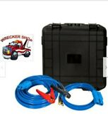 Jumper Booster Cables For Wrecker Tow Truck Aaa Road Service Jump Start