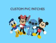 50 Customize Pvc Silicone Your Own Design Rubber Tactical Patches Free Shipping