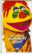 The World Of Sid And Marty Krofft Vhs 3 Tape Box Set Wonderbug Bigfoot