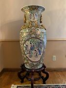 Antique Chinese Vase By Oriental Accent