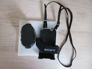 Vintage Sony Walkman Belt Clip Holder W/strap And Battery Pack - Very Clean