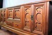Early Antique Asian Cedar Cabinet Sideboard Buffet Chest Server Trunk Chinese