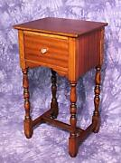 Colbyand039s Antique Side End Lamp Table Pedestal Sofa Stand Coffee Widdicomb Server