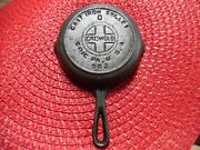 Vtg Griswold Cast Iron Skillet 0 Erie Pa 562 Toy Reprodti Cookware Decor Display