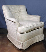 Fine Upholstered Lounge Chair Armchair Sofa Chaise Settee Loveseat Couch Vintage