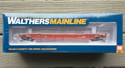 Walthers Mainline 1/87 Ho Cp 53' Nsc Well Car 3-unit Rd 523148 F/s 910-55061