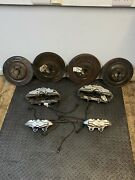Mercedes Sl55 Amg R230 Brake Callipers With Pads And Discs Brembo