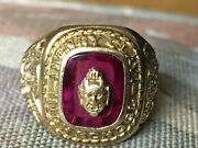 Vintage 10k Gold Henry Clay High School Class Ring 1958 7.9 Grams Size 5.8