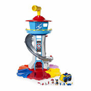 Paw Patrol My Size Tower With Vehicle Lights And Sounds Ages 3 And Upopen Box