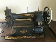 Martha Washingon White Rotary Sewing Machine In Cabinet Local Pick Up Only