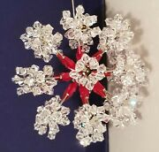 Very Rare 2005 Limited Edition Christmas Ball Ornament Siam Crystals