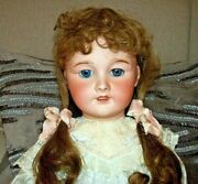 Tete Jumeau Medaille Dand039or 24 Doll W/sleep Eyes Excellent Head Free Shipping