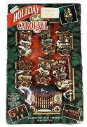 Mr Christmas 1992 Holiday Carousel Electric 6 Horses 21 Songs Vintage