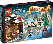 Advent Calendar 2013, Lego City 60024, Rare And Retired, New In Sealed Box
