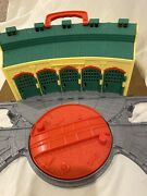 Thomas The Train Take N Play Tidmouth Folding Roundhouse Shed Station Track 2009