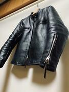 The Real Mccoyand039s Buco J-100 Jacket Black Leather Size 36 Used From Japan
