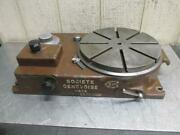 Sip Societe Genevoise Pd-2h Rotoptic Precision Optical Rotary Table 12