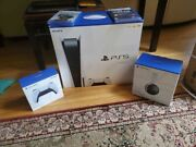 Ps5 Playstation 5 Disc Edition Bundle - Pulse Headset - Two Games - Controllerandnbsp