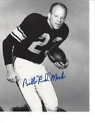 Bill Red Mack 8x10 Photo Signed/auto - Notre Dame Collection