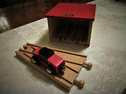 Vintage Brio 3365 Engine Shed Wye And Car Made In Sweden 31405-65 Early 80's 70's