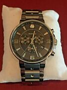 Movado 0606759 Se. Pilot 42mm Menand039s Chronograph Stainless Steel Watch