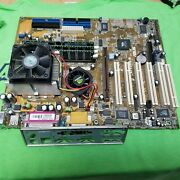 Asus A7v266-e Socket 462/a /w Amd Athlon Xp 1700+ And 1gb Ddr Ram And Backplate