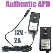 Genuine Apd Ac Adapter 24w Oem For Hard Drive Wd My Book Essential Wdbacw Series