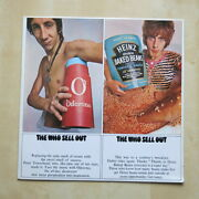 The Who Sell Out Uk 1st Pressing Stereo Vinyl Lp With Poster Track Records