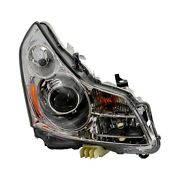 For Infiniti G37 09 Replace Passenger Side Replacement Headlight Brand New