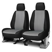 For Ford F-150 15-19 Neo Series 1st Row Black And Light Gray Custom Seat Covers