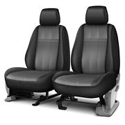 For Gmc Acadia 13-16 Forma Series 1st Row Black And Charcoal Custom Seat Covers
