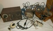 Vtg Mixed Lot Electric Train Transformers Controller Parts Wire American Flyer