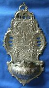 1084-antique Silver German Water Font