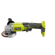 Ryobi 18-volt One+ Cordless 4-1/2 In. Angle Grinder Tool-only