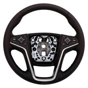 For Buick Lacrosse 14-16 Acdelco 4-spoke Cocoa Leather Wrapped Steering Wheel