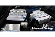 For Chevy Corvette 14-19 Engine Kit Package Acc Advanced Package Brushed Black