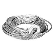 Mile Marker 19-50020c 3/8 X 100' Steel Winch Cable W Hook