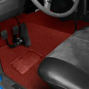 For Triumph Tr4a 66 Sewn-to-contour Replacement Carpet Sewn-to-contour Red Nylon